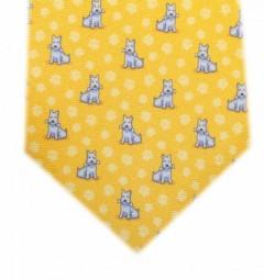 corbata-perro-con-huella-amarillo-azul